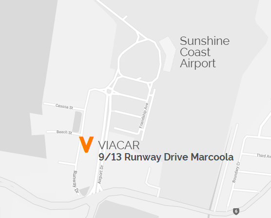 VIACAR Showroom Location